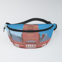 Cardiff Pierhead Building Two Fanny Pack