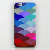 rug iPhone & iPod Skins featuring Scales by Steven Womack