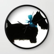 Little Scottie Wall Clock