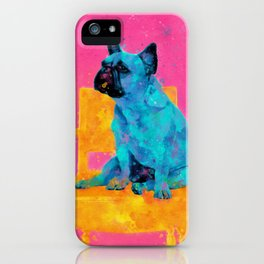 Waiting for human, dog friend iPhone Case