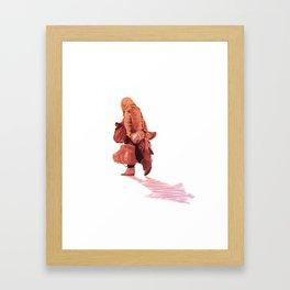 Constant Departure Framed Art Print