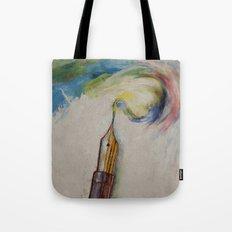 Fountain Pen Tote Bag