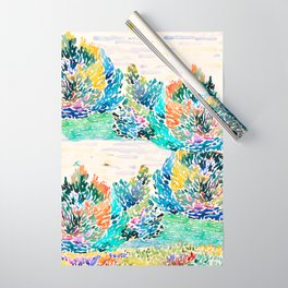 Spring arrived Wrapping Paper
