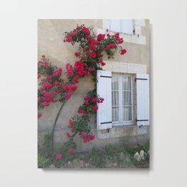 French Roses Metal Print