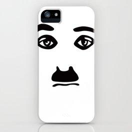Silent Stars - Charlie Chaplin iPhone Case