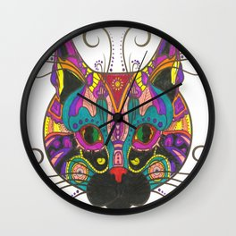 Cat Style Wall Clock