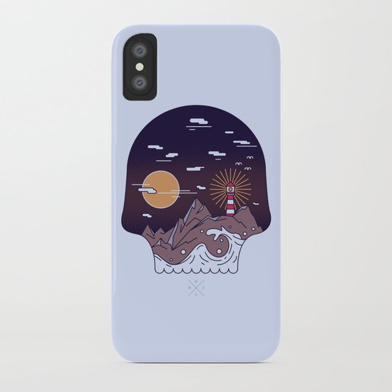 Skull Pier iPhone Case