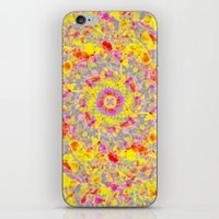 psychedelic iPhone & iPod Skins featuring Psychedelic by Sandra Arduini