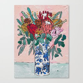 Australian Native Bouquet of Flowers after Matisse Canvas Print