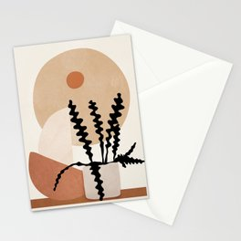Minimal Pot Life III Stationery Cards