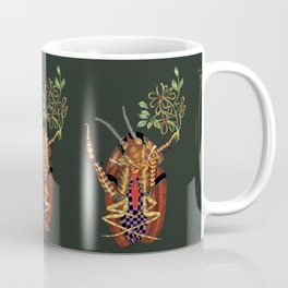 Cockroach all dressed up and ready to go paint the town Coffee Mug