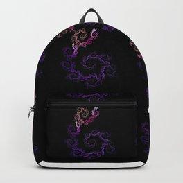 dancing flowers in purple Backpack