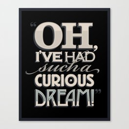 Curious Dream Canvas Print