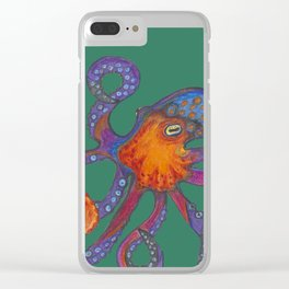 Two Octopodes Clear iPhone Case