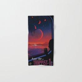 Planet Hop Trappist-1e Hand & Bath Towel