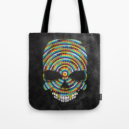 Hypnotic Skull Tote Bag