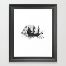 Ahoy Framed Art Print