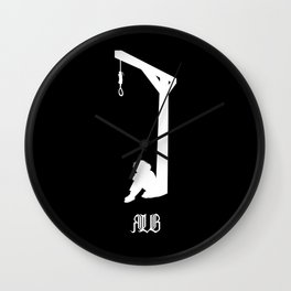 Contemplation (invers) Wall Clock