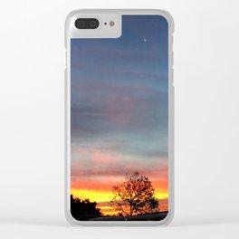 Lurid Dawn: 10.08.15 Clear iPhone Case