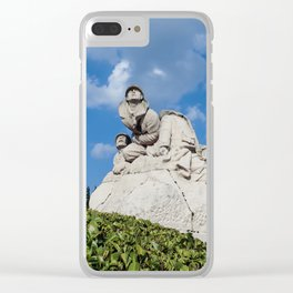 monument to the dead and soldiers Clear iPhone Case