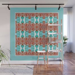 Poró-Poró Tree Pattern design Wall Mural