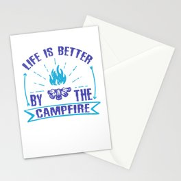 Life Is Better By The Campfire pb Stationery Cards