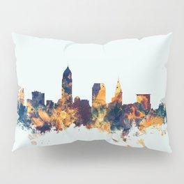 Cleveland Ohio Skyline Pillow Sham