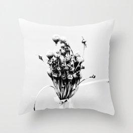 Flower Dance Throw Pillow