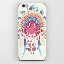 Learn from Nature iPhone Skin