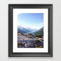 Waterton Bear Hump Framed Art Print