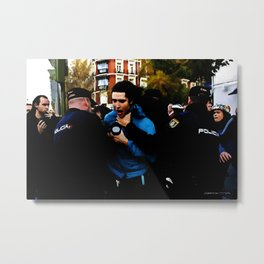 Revolution - Madrid 1 Metal Print