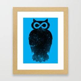 Owlfinity  Framed Art Print