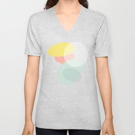 Lost In Shapes III #society6 #abstract Unisex V-Neck