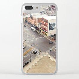 Downtown Detroit 3 Clear iPhone Case