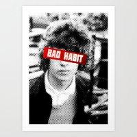 Bad Habit Art Print