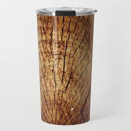 Burnt sun tree Travel Mug