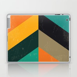 Mid Century Chevron Art Laptop & iPad Skin