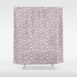 Lair of the White Wyrm Shower Curtain