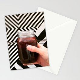 Artistic Cold Brew Shot 3 // Mason Jar Caffeine & Street Art Barista Coffee Shop Wall Hanging Photo Stationery Cards