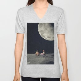 I Gave You the Moon for a Smile Unisex V-Neck