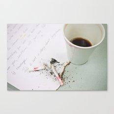 Coffee-3 Canvas Print