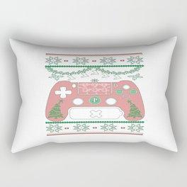 Gaming Christmas Rectangular Pillow