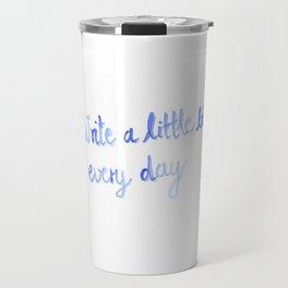 Writing motivation #2 Travel Mug