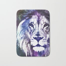 Purple Lion Bath Mat