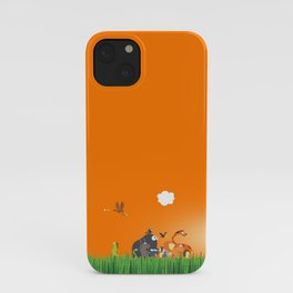What's going on in the jungle? Kids collection iPhone Case