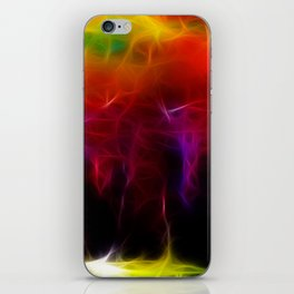 Colorful Forest Digital iPhone Skin