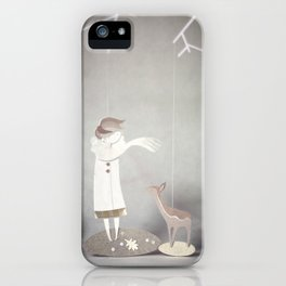 But By A Thread iPhone Case