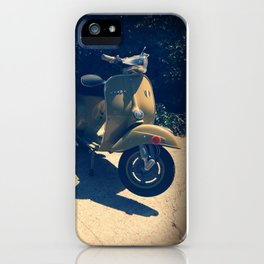 Vintage Italian Scooters iPhone Case
