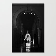 en la mezquita Canvas Print