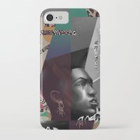 grace iPhone & iPod Cases featuring Grace by Galvanise The Dog